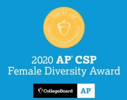 OTHS Earns AP Computer Science Female Diversity Award