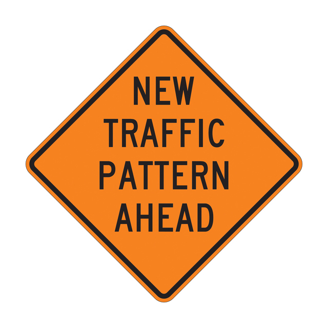 New Traffic Pattern!