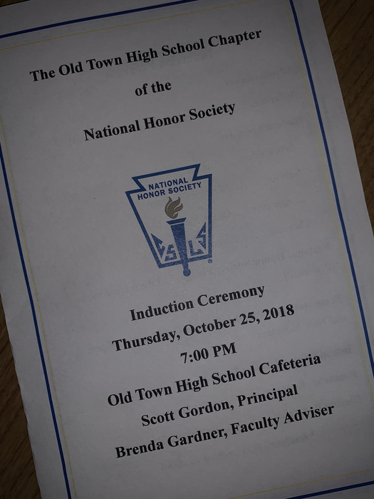 OTHS Induction Program