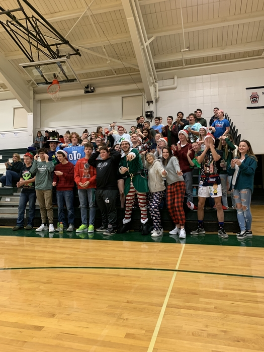 OTHS Holiday Fan Section