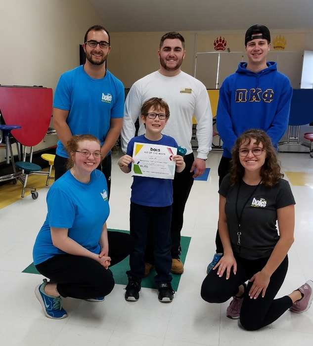 Jack was BOKS Kid of the Week on April 4th!