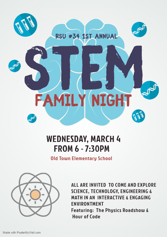 2020 family STEM night