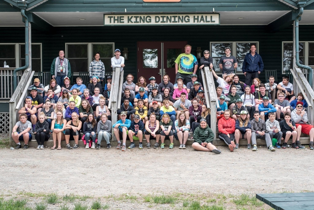 Class of 2020 at Camp Jordan, 2016