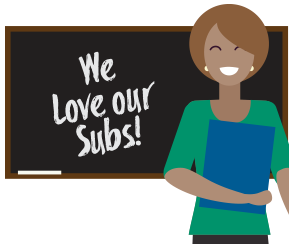 We love our subs logo from stedi.org